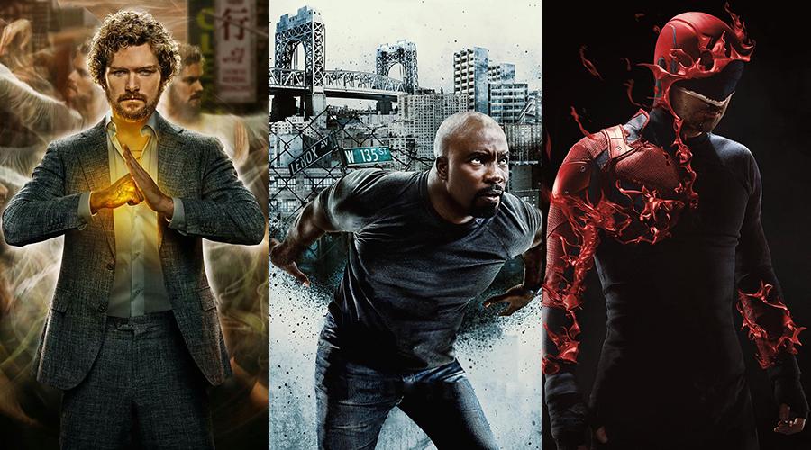 Iron Fist, Luke Cage and Daredevil