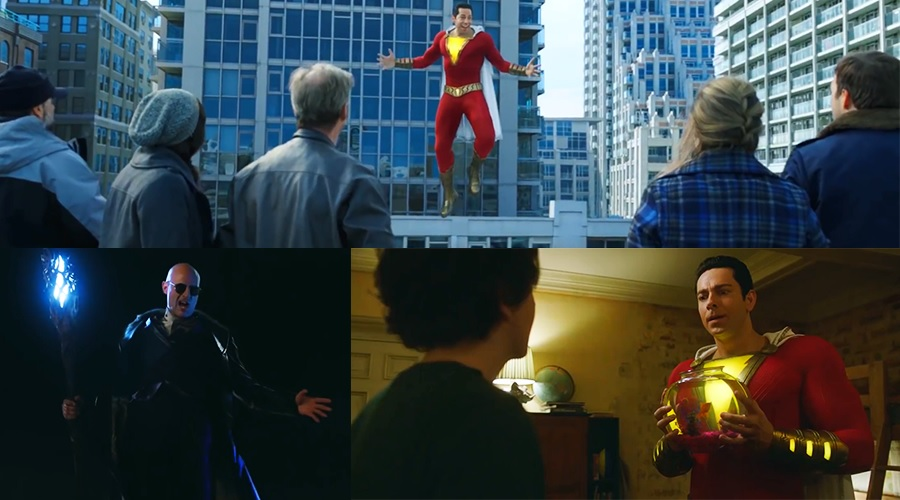 An international trailer and an extended sneak peek for Shazam! have arrived!