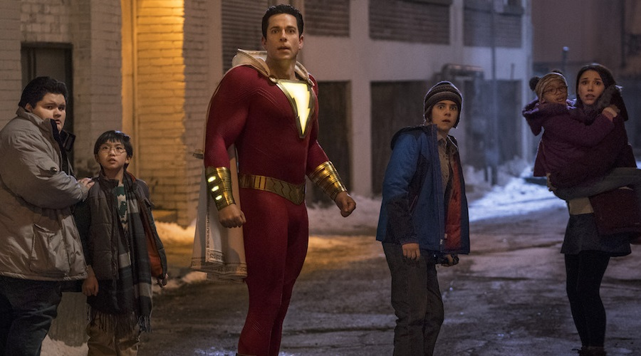 The film critics are speaking highly of the Zachary Levi-led cast of Shazam!