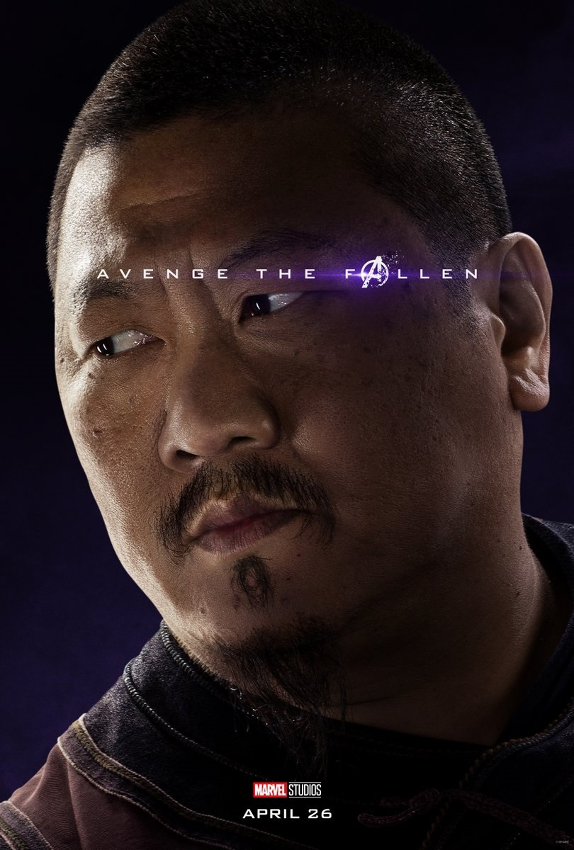Endgame character poster for Benedict Wong's Wong