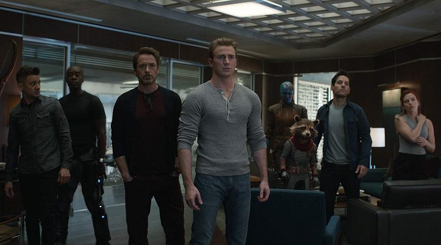 The heroes in Avengers: Endgame