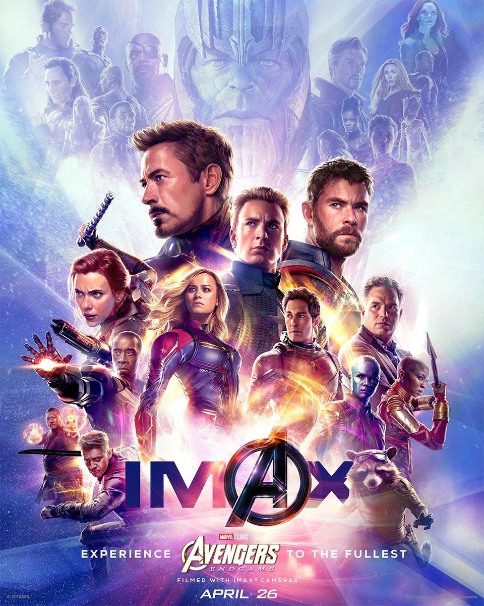 Endgame's IMAX poster