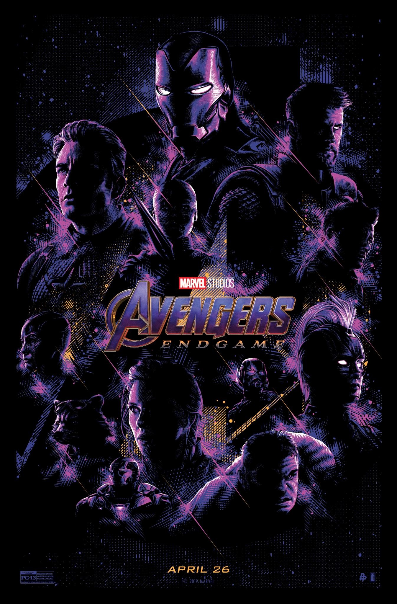Another Avengers: Endgame inspired poster by Poster Posse