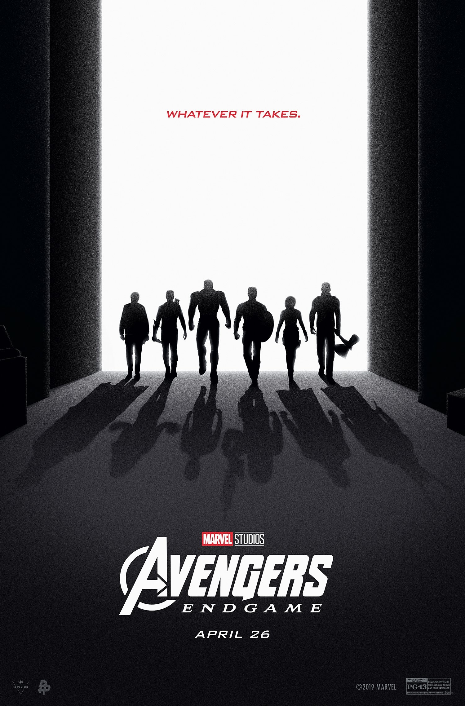 Avengers: Endgame inspired poster by Poster Posse
