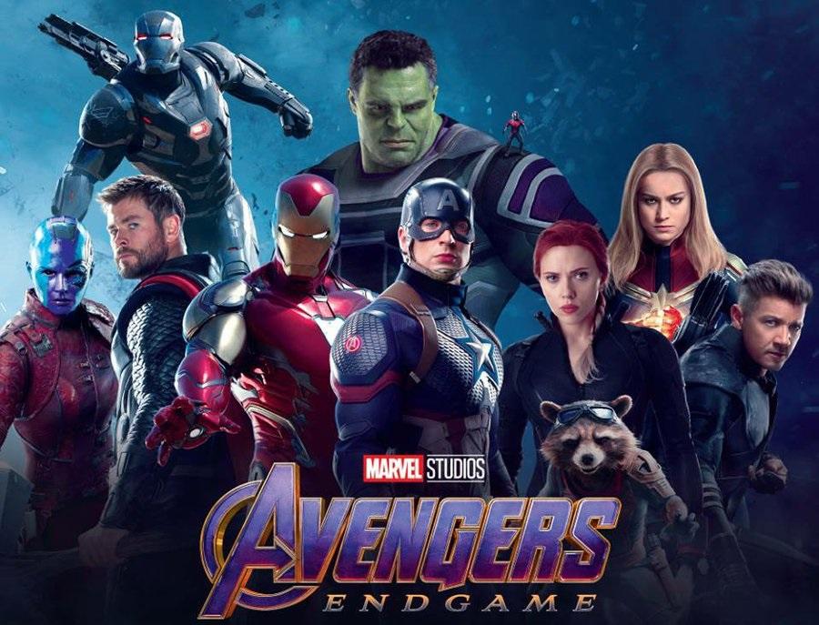 Avengers: Endgame promo banner
