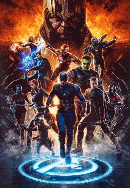 Avengers: Endgame promo poster