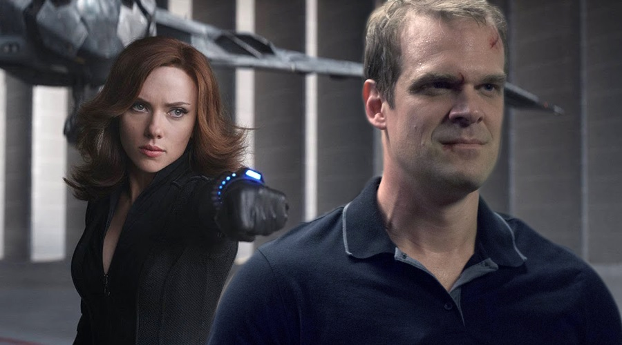 David Harbour says Black Widow is going to be a real deep, interesting film!
