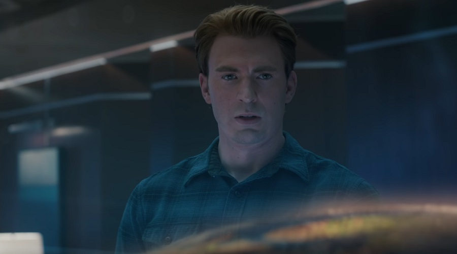 The first Avengers: Endgame clip shows off a rare moment of Captain America swearing!