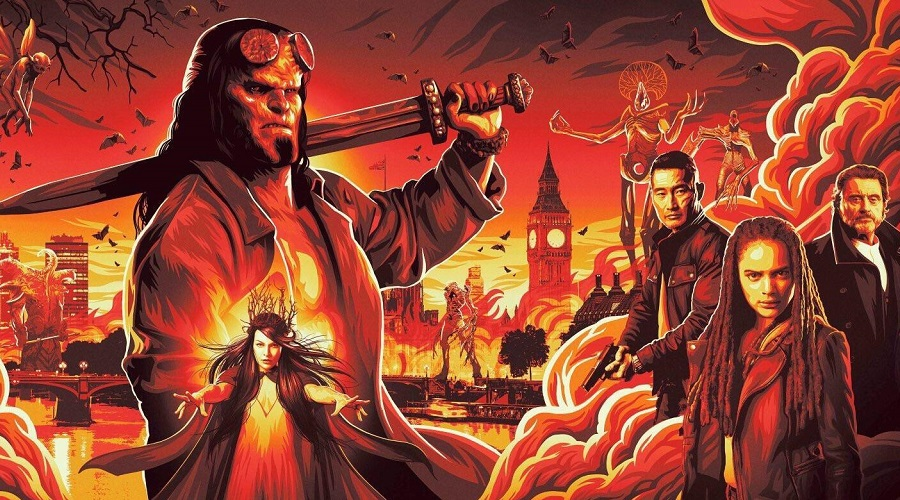 The first reviews for the Hellboy reboot point towards the movie being a disaster!