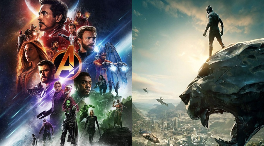 Avengers: Endgame will move past Avengers: Infinity War and Black Panther in the all-time domestic chart soon!