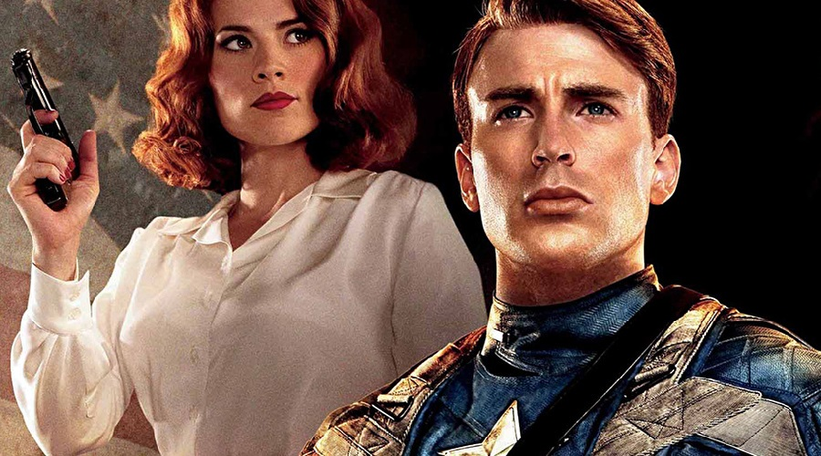 Captain America Y Peggy Carter Endgame