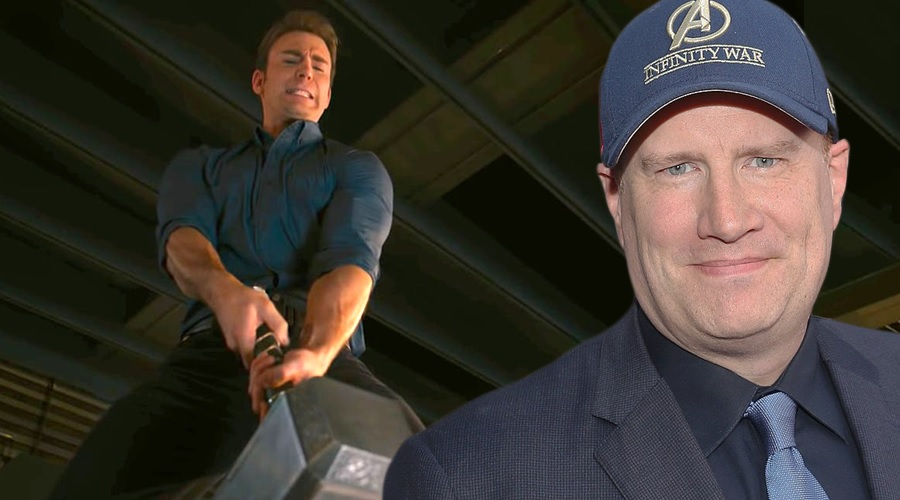 Kevin Feige says that Captain America could lift the Mjolnir in Avengers: Age of Ultron if he really wanted to!
