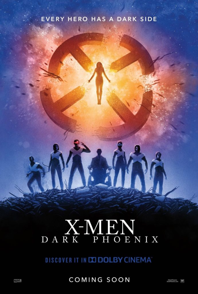 Dark Phoenix poster from Dolby Cinema