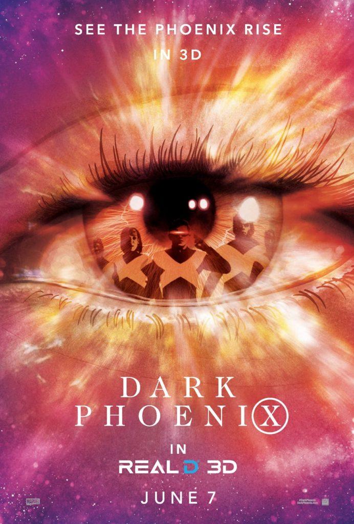 RealD 3D poster for Dark Phoenix