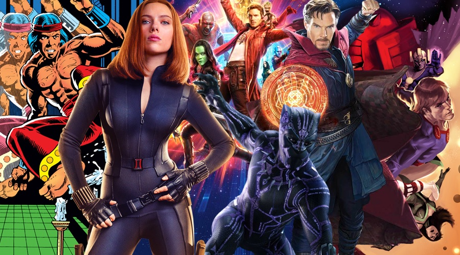 Eight Marvel movies are coming out from 2020 until 2022!
