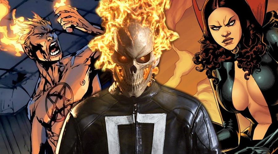 Marvel is developing Ghost Rider and Helstrom live-action shows for Hulu