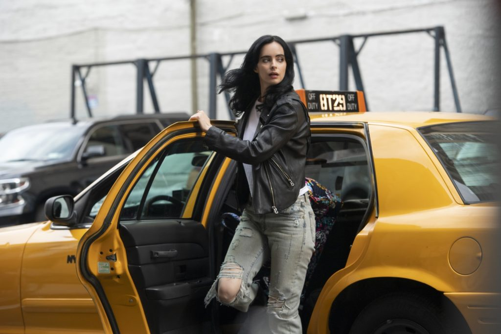 Jessica Jones Season 3 image featuring Krysten Ritter's titular hero