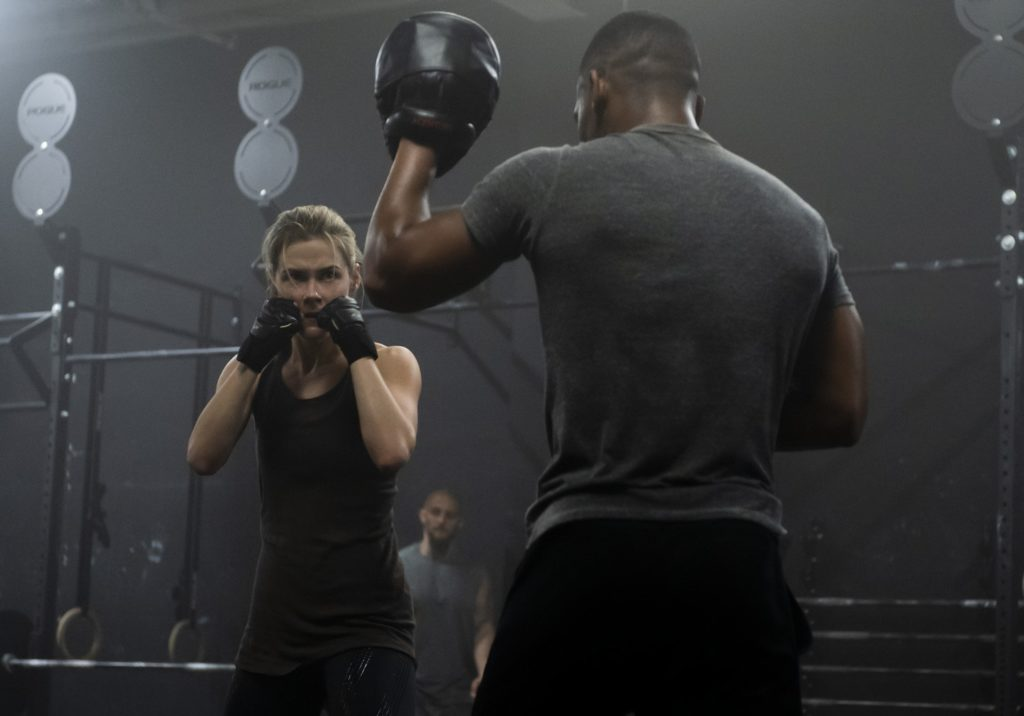 Rachael Taylor's Trish Walker honing her fighting skills