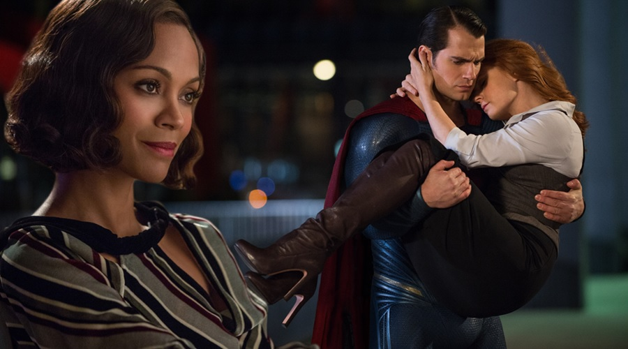 Zoe Saldana was Zack Snyder's second choice for the role of Lois Lane in Man of Steel!