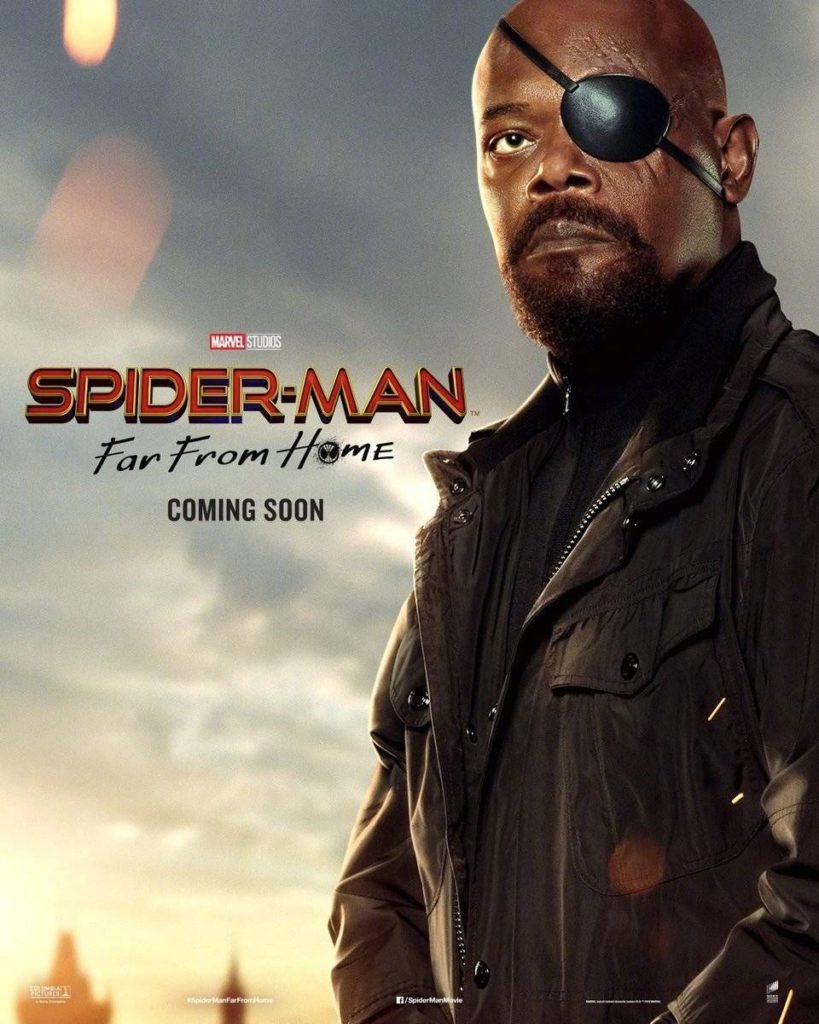 Character poster for Samuel L. Jackson's Nick Fury