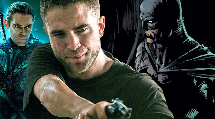 Willem Dafoe says Robert Pattinson has the right chin for Batman!