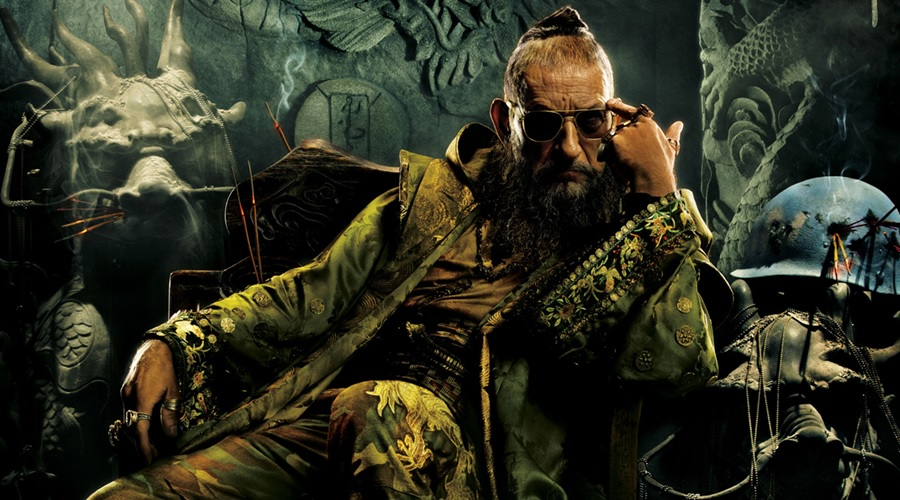 Ben Kingsley as the Mandarin imposter Trevor Slattery in Iron Man 3