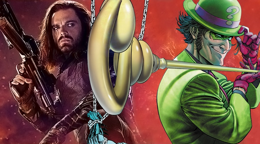 Sebastian Stan would love to play The Riddler in a DC Comics adaptation!